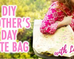 DIY Mother's Day Tote Bag with Lulu! – HGTV Handmade