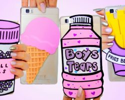 DIY PHONE CASE Ideas You NEED To Try! For ANY Phone! CUTE EASY INEXPENSIVE