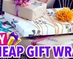 DIY Potato Stamped Wrapping Paper – HGTV Handmade