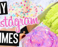 DIY Instagram SLIMES! Concrete Slime?! Making ONE INGREDIENT SLIME??!! NO Borax/Detergent