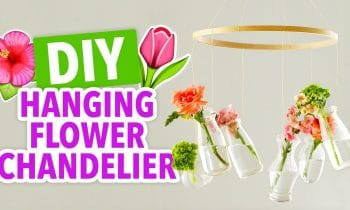DIY Flower Chandelier – HGTV Handmade