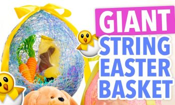 DIY Giant String Easter Egg Basket – HGTV Handmade
