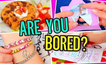 DIYS For When You're BORED! Easy 5-Minute Crafts YOU Should Try!