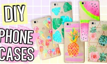 7+1 DIY PHONE CASE ideas For SUMMER! Using ONLY ONE CASE!