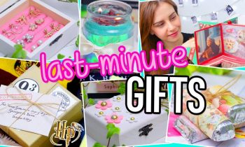 DIY Christmas Gifts! Harry Potter, magic card & more!  For BFF, Boyfriend, Parents…