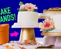 DIY Cake Stands made from Flowerpots! – HGTV Handmade