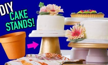 DIY Cake Stands made from Flowerpots! – HGTV Handmade