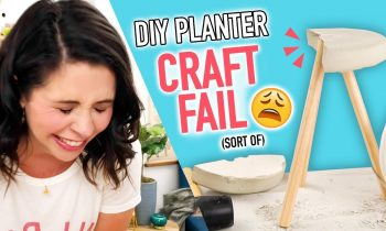 DIY Cement Planter CRAFT FAIL (sort of) – HGTV Handmade
