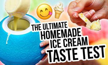 Homemade Ice Cream 3 Ways   The Ultimate Taste Test! – HGTV Handmade