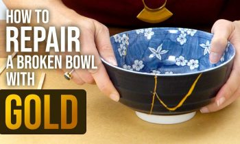 How to Repair Broken Bowls with Gold ~ The Art of Kintsugi – HGTV Handmade
