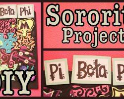 DIY: FUN Sorority Project!   Group DIY