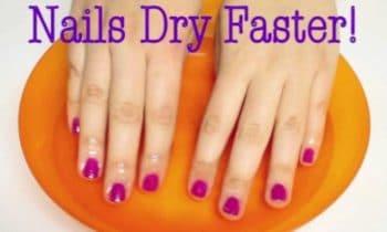 HowTo: Nail Polish Dry Faster!