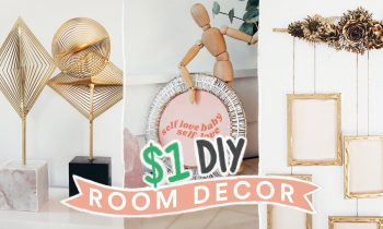 DIY DOLLAR STORE ROOM DECOR – $1 Aesthetic + Super Easy // Lone Fox