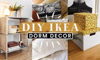 DIY IKEA DORM ROOM DECOR + HACKS ✏️ Super Easy + Aesthetic // Lone Fox